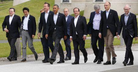 """El G-8 aboga por la paz y la estabilidad """"por medios políticos"""""""