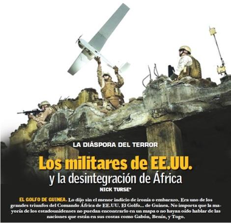 Los militares de EE.UU. y la desintegración de África