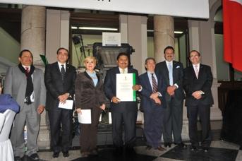 Reconocimiento  y solidaridad con el rector de la Unacar, José Antonio Ruz Hernández