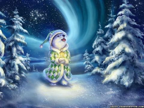 whitebearnightmagictoldchristmaswallpapers