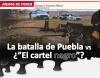 """Juegos de poder La batalla de puebla vs ¿""""el cartel negro""""?"""