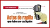 LEX JURIDICAS: TERREMOTO DEL 19 DE SEPTIEMBRE Actos de rapiña que deben ser castigados