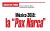 """JUEGOS DE PODER México 2018: la """"Pax Narca"""""""