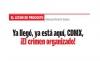 EL LECHO DE PROCUSTO Ya llegó, ya está aquí, CDMX, ¡El crimen organizado!
