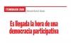 ITINERARIO 2018 Es llegada la hora de una democracia participativa