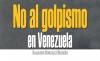 No al golpismo en Venezuela