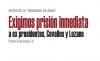 """Antes de la renuncia de AMLO"""" Exigimos prisión inmediata a ex presidentes, Cevallos y Lozano"""