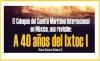 El Coloquio del Comité Marítimo Internacional en México, una revisión A 40 años del Ixtoc I
