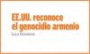 EE.UU. reconoce el genocidio armenio
