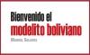 Bienvenido el modelito boliviano