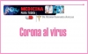 MEDICINA PARA TODOS Corona al virus