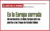 EL ARTE DE LA GUERRA En la Europa cerrada del coronavirus, la Unión Europea abre las puertas a las tropas de Estados Unidos