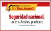 Entrevista con la especialista Dra. Elena Jeannetti Dávila  Seguridad nacional, un tema todavía pendiente