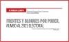 A FUEGO LENTO Frentes y bloques por poder, rumbo el 2021 electoral