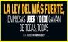 ENTREVISTA CON CARLOS PEREDO / LA LEY DEL MÁS FUERTE, EMPRESAS UBER Y DIDI GANAN DE TODAS, TODAS