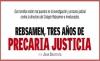 REBSAMEN, TRES AÑOS DE PRECARIA JUSTICIA
