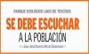 PARQUE ECOLÓGICO LAGO DE TEXCOCO:  SE DEBE ESCUCHAR A LA POBLACIÓN