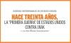 """GUERRAS INTERMINABLES DE ESTADOS UNIDOS: HACE TREINTA AÑOS, LA """"PRIMERA GUERRA"""" DE ESTADOS UNIDOS CONTRA IRAK"""