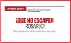 A FUEGO LENTO ¡Que no escapen  Rosario!