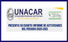 Presenta su Cuarto Informe de Actividades del periodo 2020-2021,  el Dr. José Antonio Ruz Hernández,  al frente de la UNACAR.