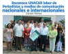 Reconoce UNACAR labor de periodistas y medios de comunicación nacionales e internacionales