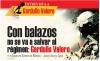 Con balazos no se va a salvar al régimen: Garduño Valero