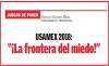 """JUEGOS DE PODER USAMEX 2018: """"¡La frontera del miedo!"""""""