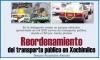 Reordenamiento del transporte público en Xochimilco