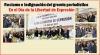 Justicia y hacer realidad la libertad de expresión, el reclamo del gremio periodístico en el Día de la Libertad de Expresión