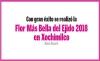 Flor Más Bella del Ejido 2018 en Xochimilco