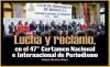 Lucha y reclamo, en el 47° Certamen Nacional e Internacional de Periodismo