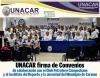 UNACAR firma de Convenios de Colaboración con el Club Petrolero Campechano y el Instituto del Deporte y la Juventud del Municipio de Carmen