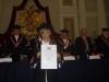 Celeste Sáenz de Miera  ingresó a la Legión de Honor Nacional