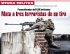 Francotirador del SAS británico Mata a tres terroristas de un tiro