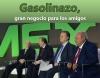 El gasolinazo, gran negocio para los amigos