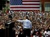 El show para el relanzamiento de Obama