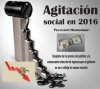 Agitación social en 2016