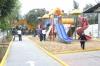 Entregan parques en Tlalpan