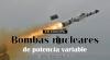 En Europa, bombas nucleares de potencia variable