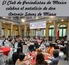 El Club de Periodistas de México celebra el natalicio de don Antonio Sáenz de Miera