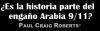 ¿Es la historia parte del engaño Arabia 9/11?