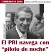 """El PRI navega con """"piloto de noche"""""""
