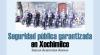 Seguridad pública garantizada  en Xochimilco