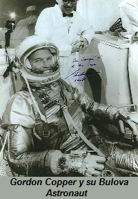 Gordon Copper y su Bulova Astronaut