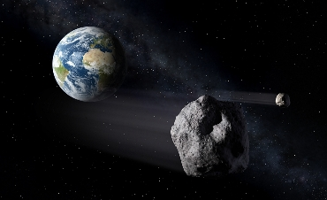 ESA Asteroids passing Earth
